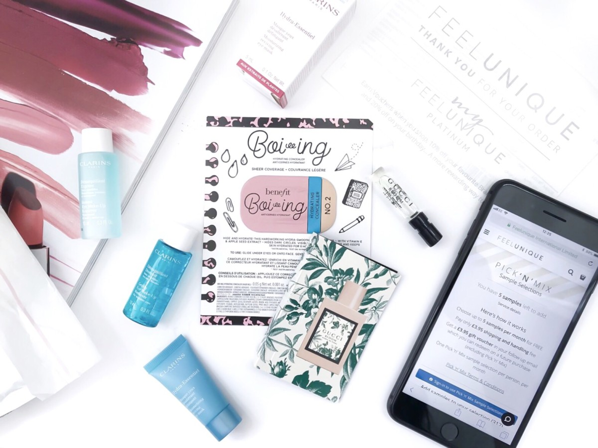 Feel Unique Pick & Mix – May 2018 – Which Beauty Box UK