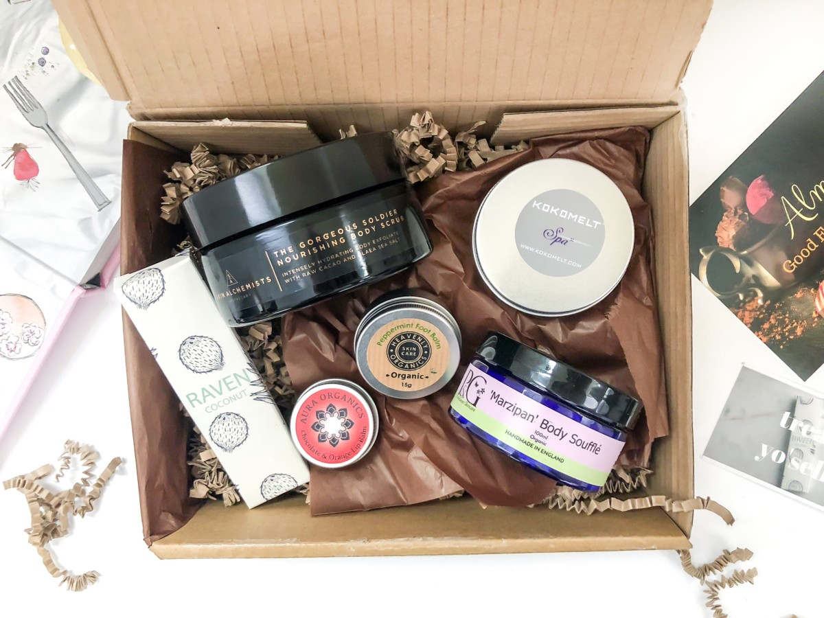 The Natural Beauty Box Review March